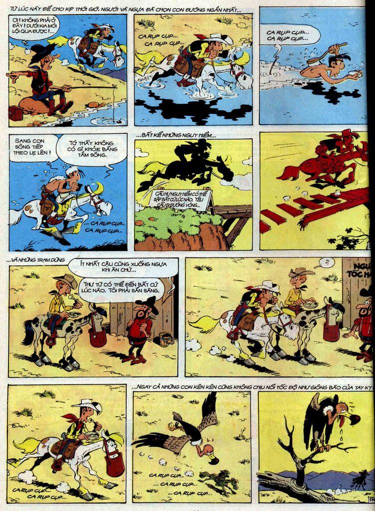 Lucky Luke tập 35 trang 38