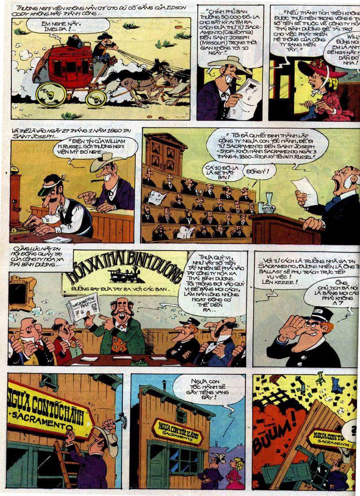 Lucky Luke tập 35 trang 2