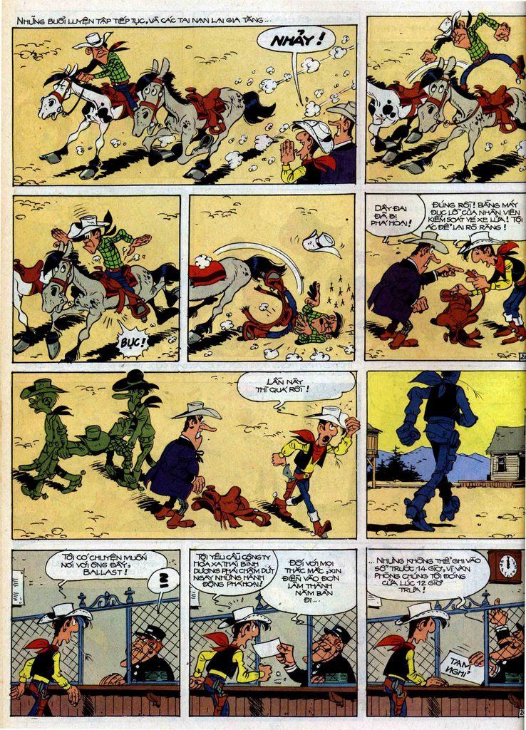 Lucky Luke tập 35 trang 20