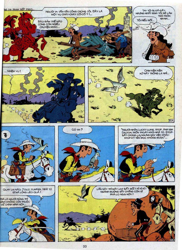 Lucky Luke tập 35 trang 31