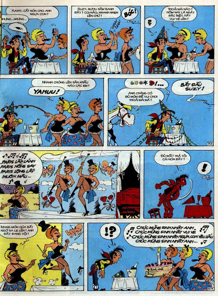 Lucky Luke tập 35 trang 35