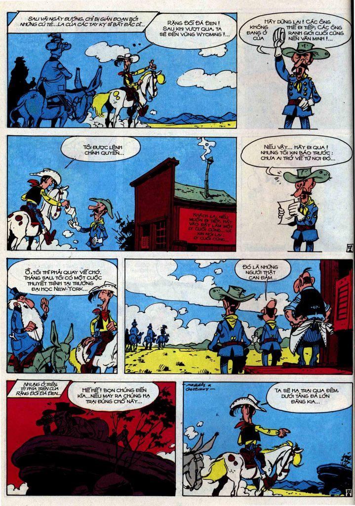Lucky Luke tập 34 trang 28