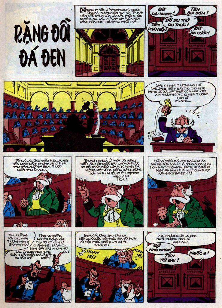 Lucky Luke tập 34 trang 1
