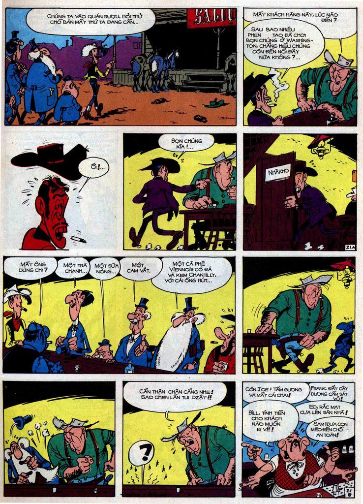Lucky Luke tập 34 trang 21