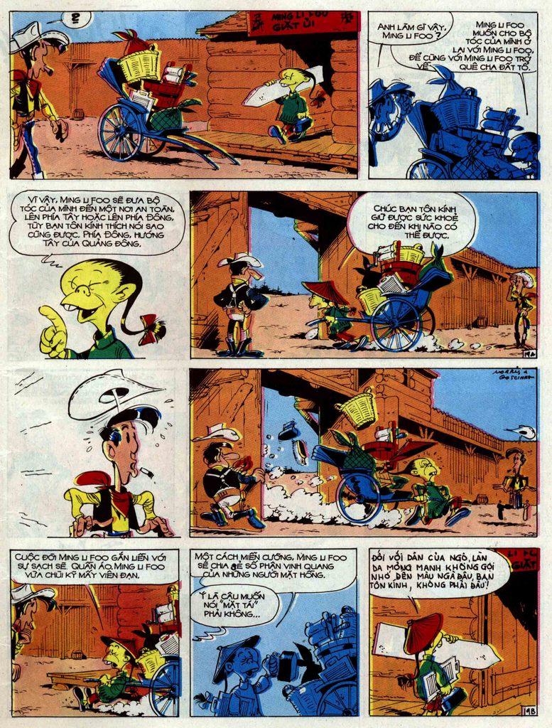 Lucky Luke tập 33 trang 19