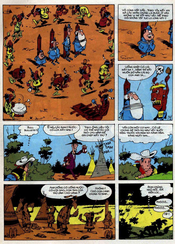 Lucky Luke tập 34 trang 37