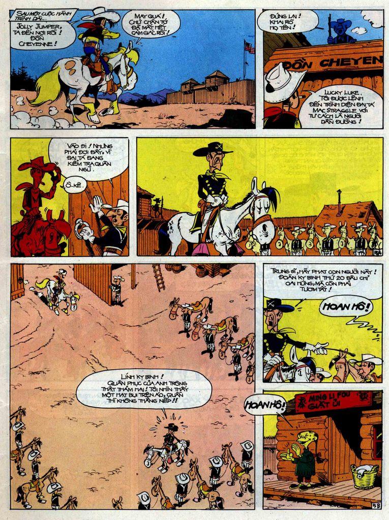 Lucky Luke tập 33 trang 5