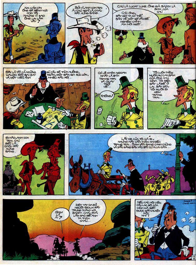 Lucky Luke tập 31 trang 12