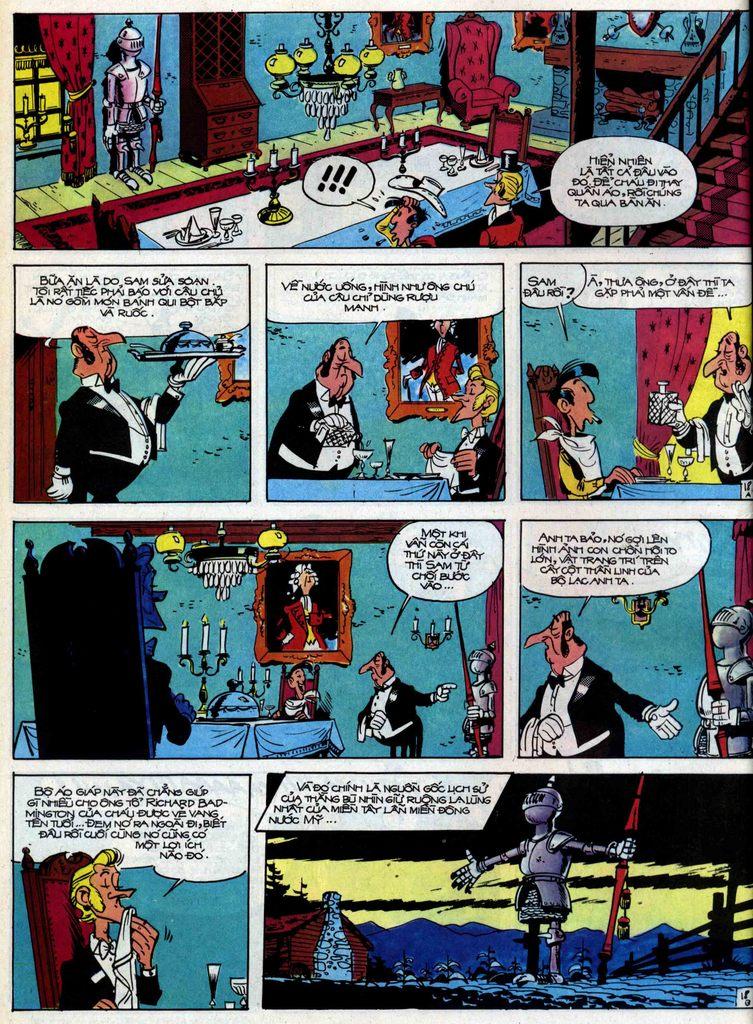 Lucky Luke tập 31 trang 18