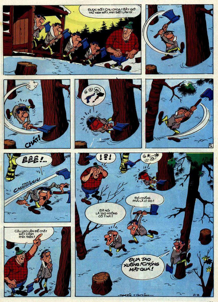 Lucky Luke tập 30 trang 19
