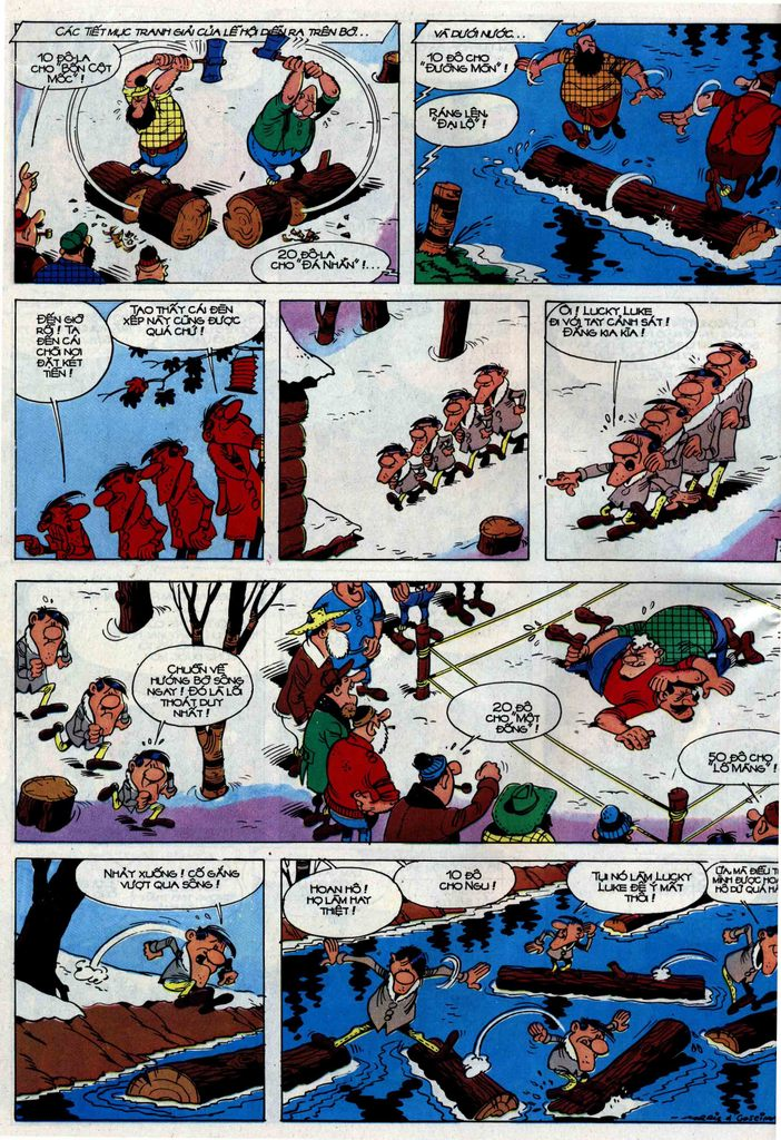 Lucky Luke tập 30 trang 22