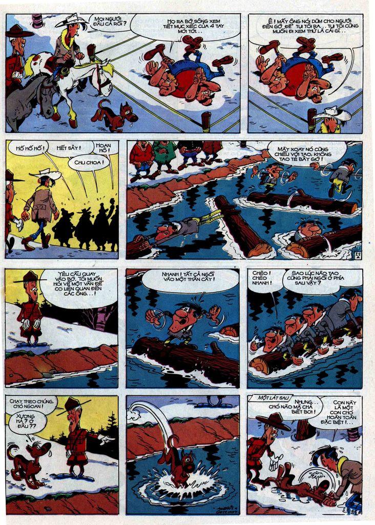 Lucky Luke tập 30 trang 23