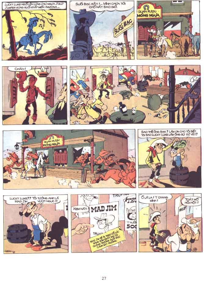 Lucky Luke tập 29 trang 28