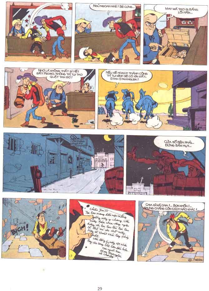 Lucky Luke tập 29 trang 30
