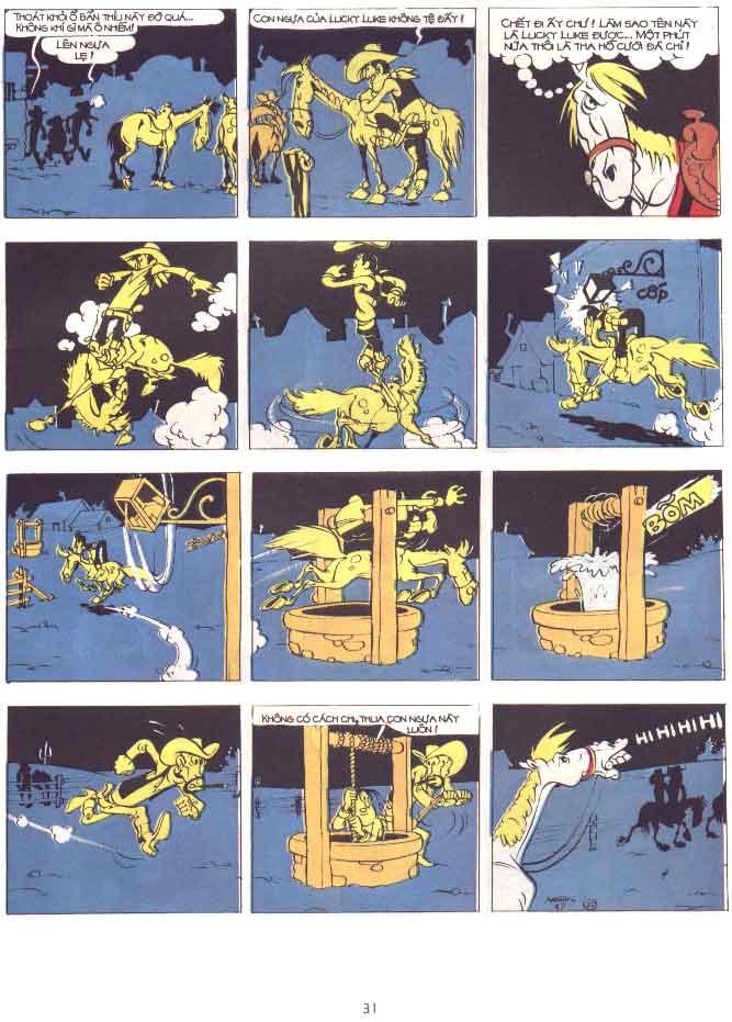 Lucky Luke tập 29 trang 32