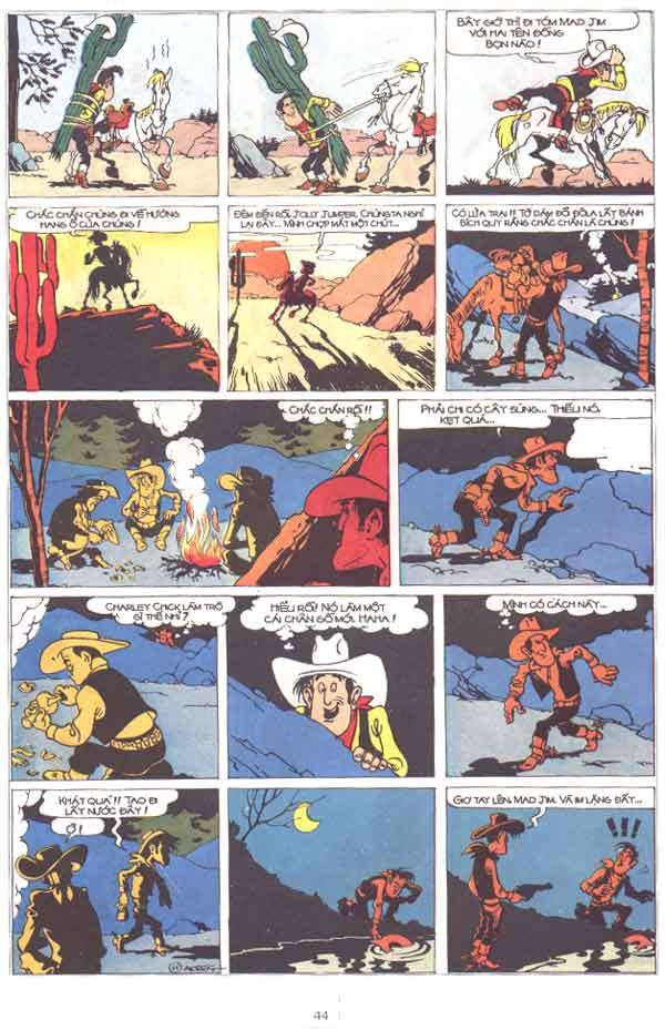 Lucky Luke tập 29 trang 45