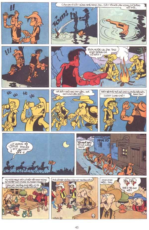 Lucky Luke tập 29 trang 46