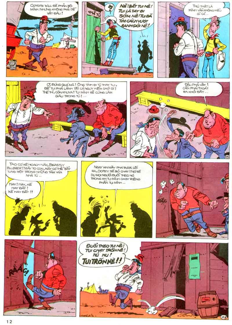 Lucky Luke tập 23 - cuộc đổ xô tới oklahoma trang 12