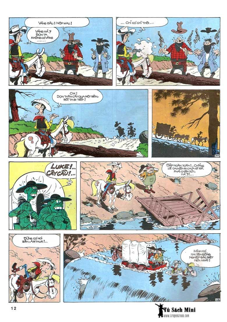 Lucky Luke tập 24 - tướng cướp một tay trang 14