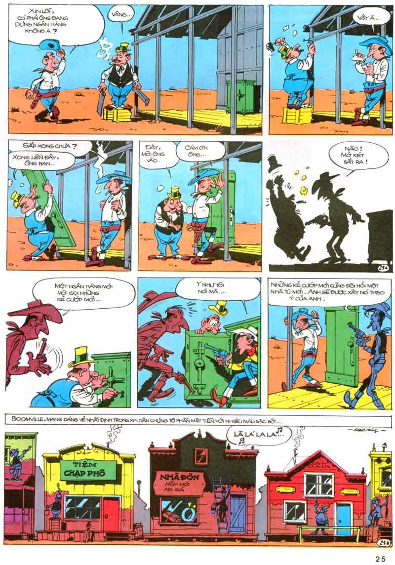 Lucky Luke tập 23 - cuộc đổ xô tới oklahoma trang 25