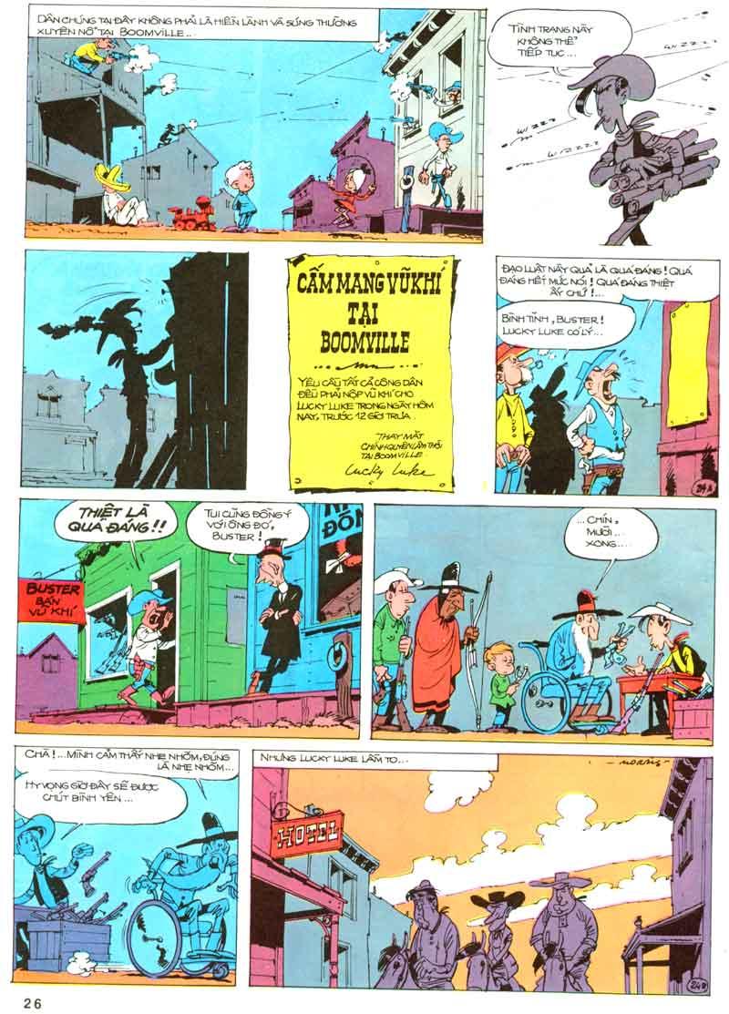 Lucky Luke tập 23 - cuộc đổ xô tới oklahoma trang 26