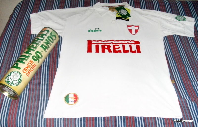 Maglia Verde  Camisa Comemorativa - 90 anos da SEP b078566ae31ea