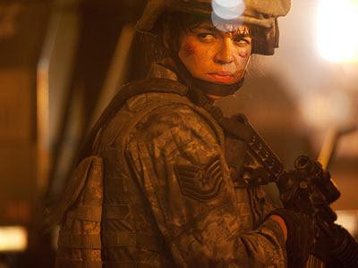 Michelle Rodriguez - Battle LA Film