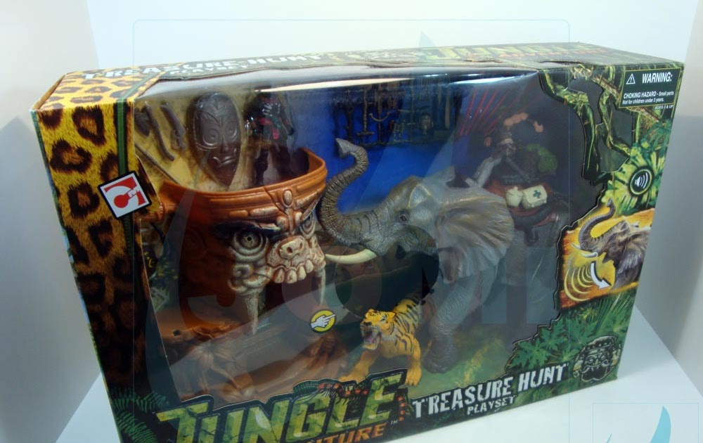 Jomi Toys Under Maintenance Jungle Adventure Treasure