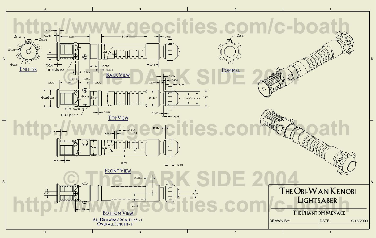 lightsaber schematics  | odicis.org