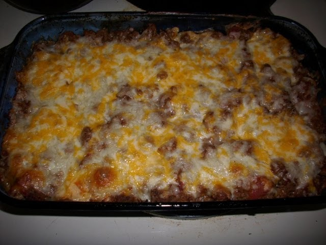Sour Cream and Ground Beef Layered Casserole  Colies Kitchen