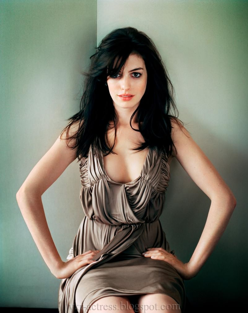 anne hathaway photo shoots