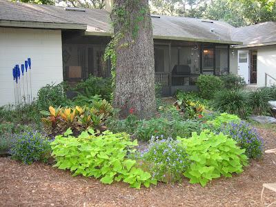 Gardening In Florida The Raised Flower Bed