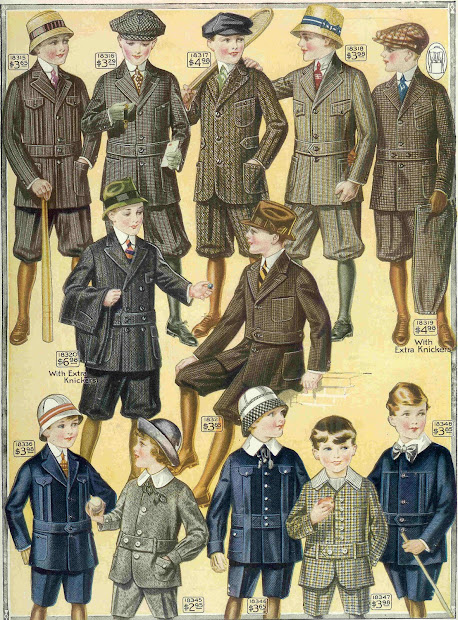 Boys Clothing From 1915