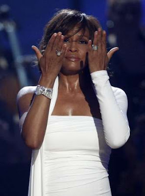 whitneyhoustonamas2 WHITNEY HOUSTON: I Didnt Know My Own Strength (Live at American Music Awards 2009)