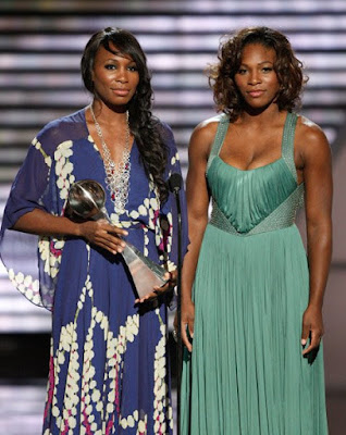 Black Tennis Pro's Venus and Serena Williams ESPY Awards Nokia Theater Los Angeles