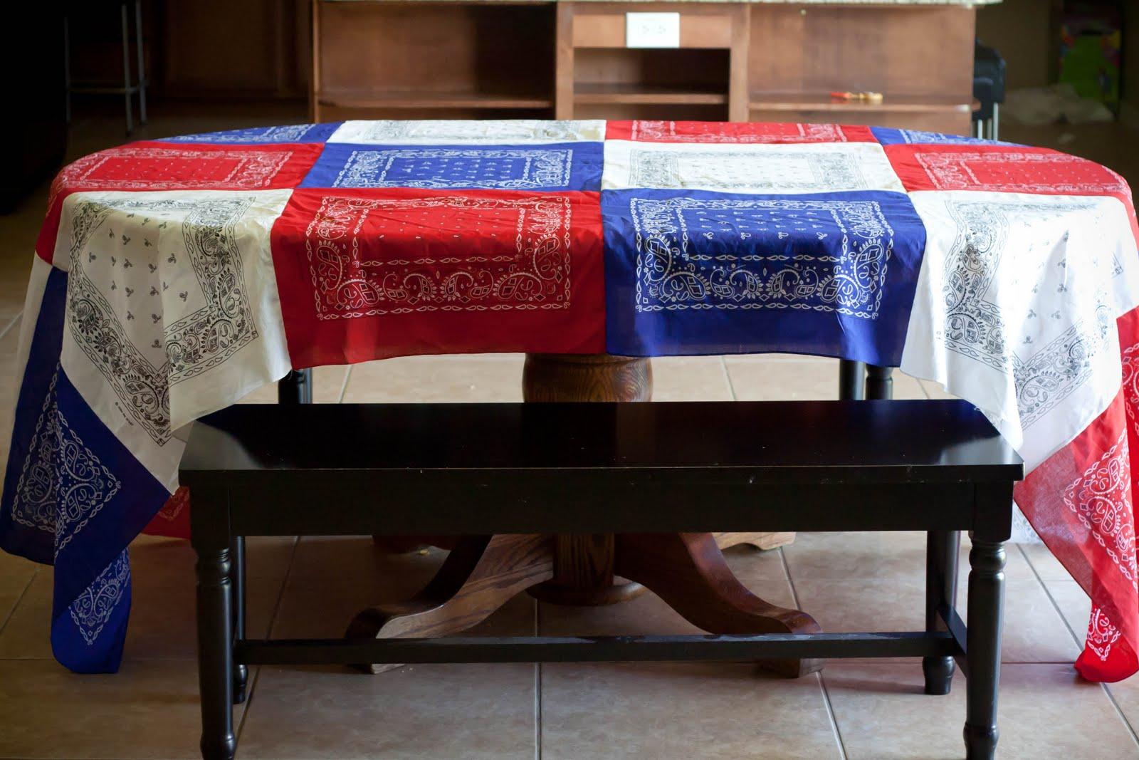 Shawnysmoonbeam Bandana Tablecloth