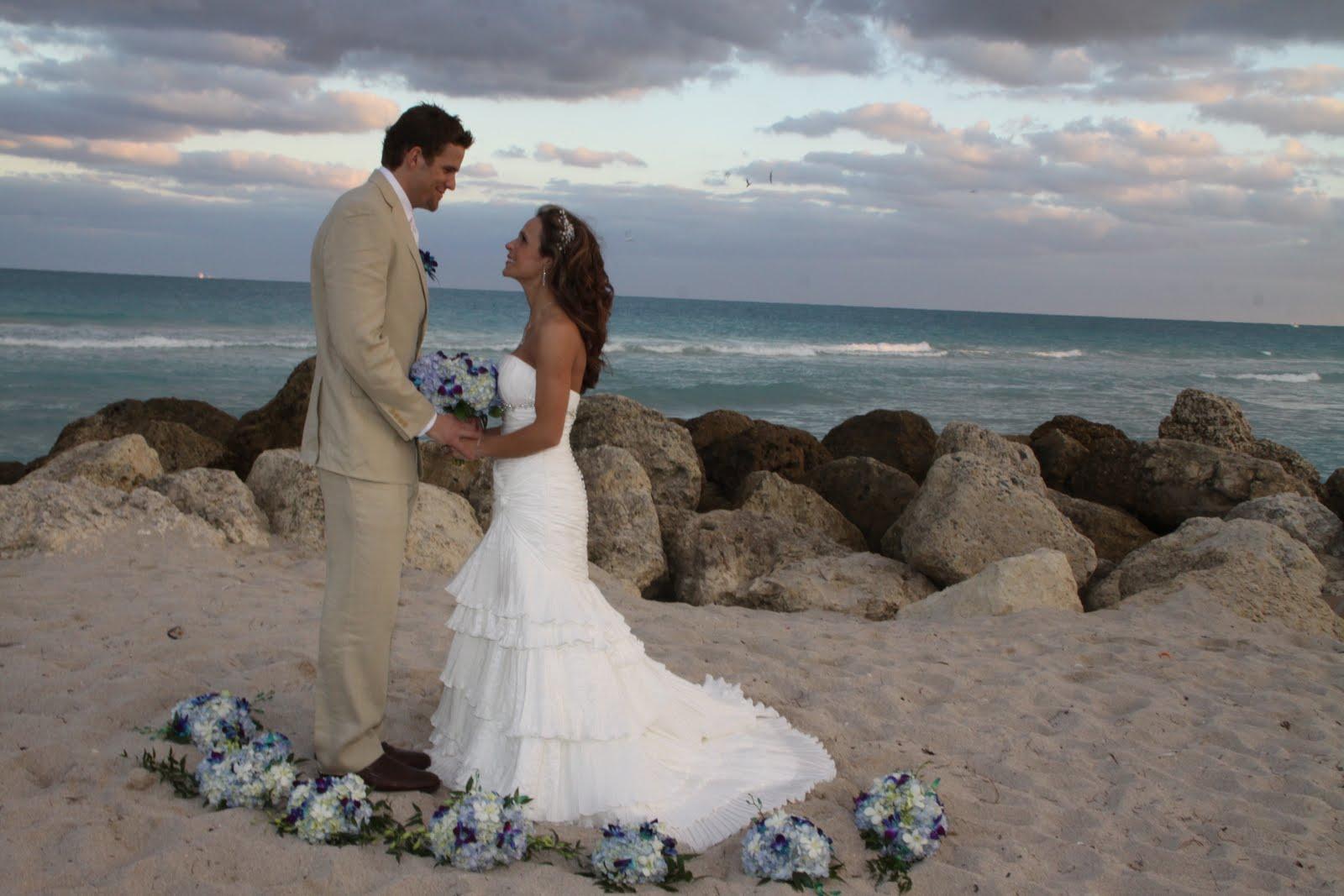 Affordable Beach Weddings! 305-793-4387: Melissa & Scott