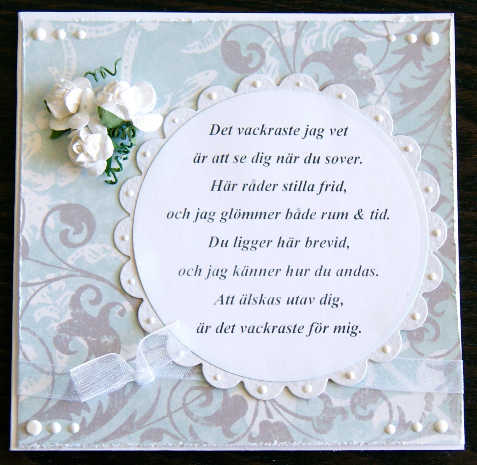 18 års bröllopsdag FruKrok: Bröllopsdag 18 års bröllopsdag