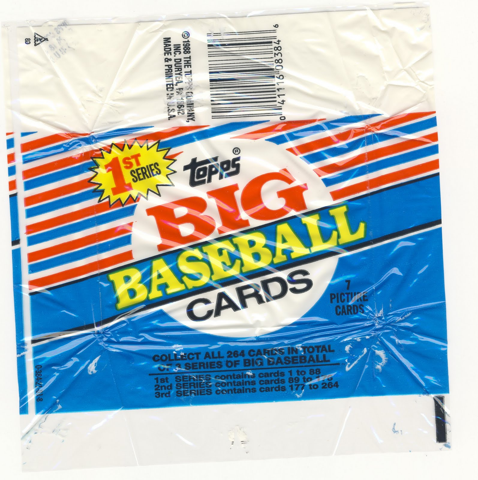 A Pack To Be Named Later 4 Packs Of 1988 Topps Big Baseball