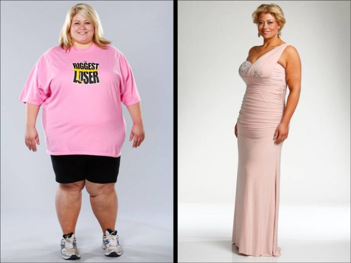 Before and After: Biggest Loser participants: 23