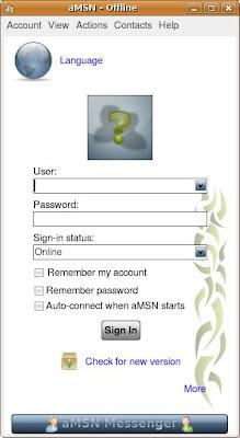 amsn messenger linux