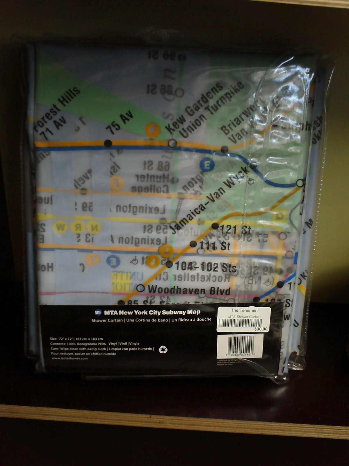 New York Subway Map Wallet.Tenement Museum Blog Featured Shop Items Subway Map Items