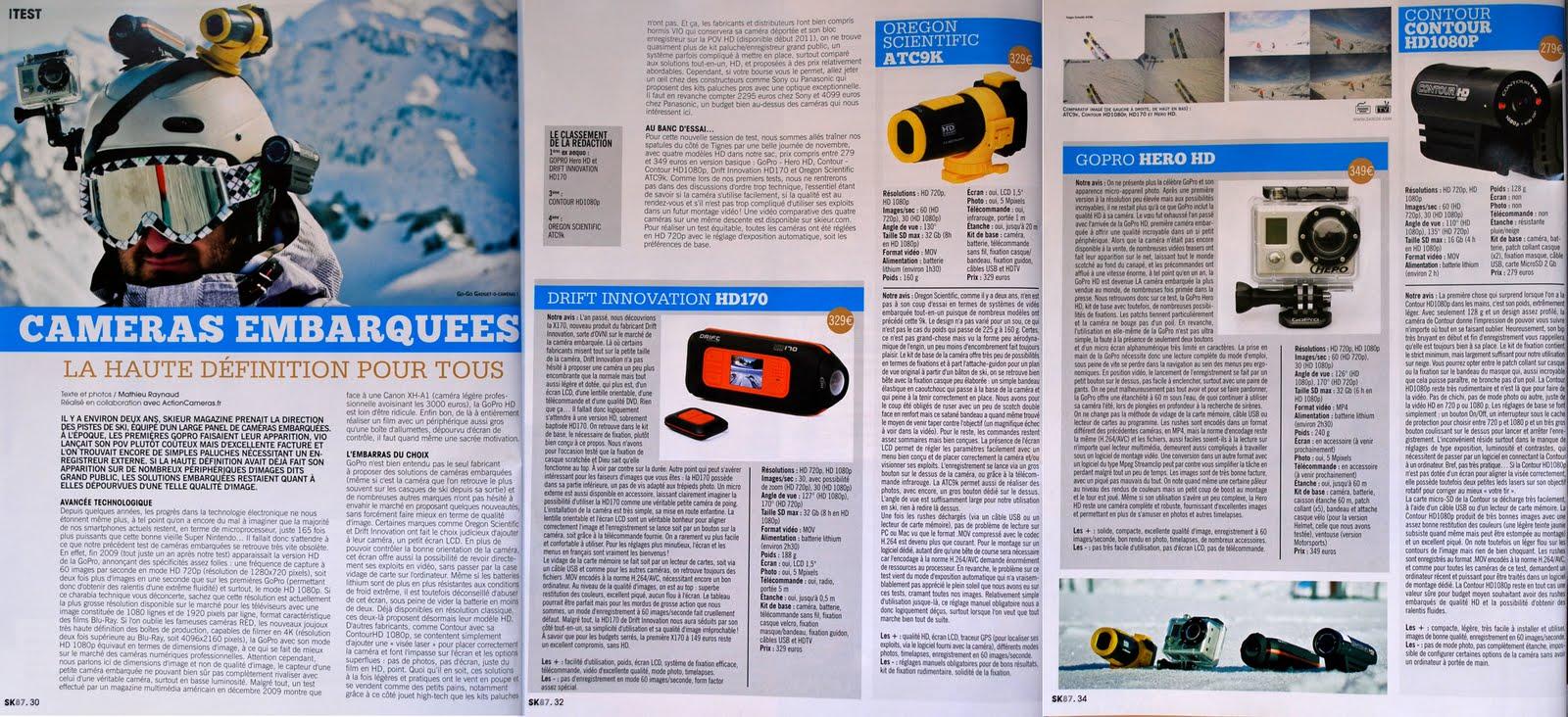 action cameras blog comparatif cam ras embarqu es par skieur mag. Black Bedroom Furniture Sets. Home Design Ideas