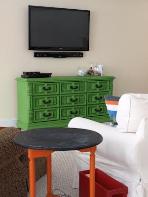 Green Dresser console