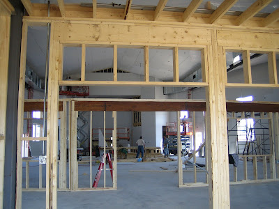 ACC Kitchener Building Project: Framing, Drywall, Drop ...