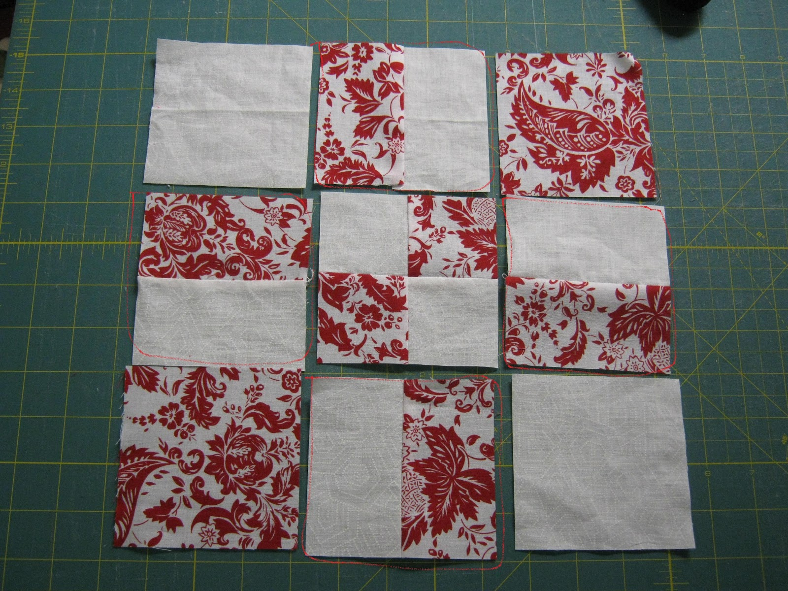 Nine Quilt Patch Instructions Disappearing Patterns