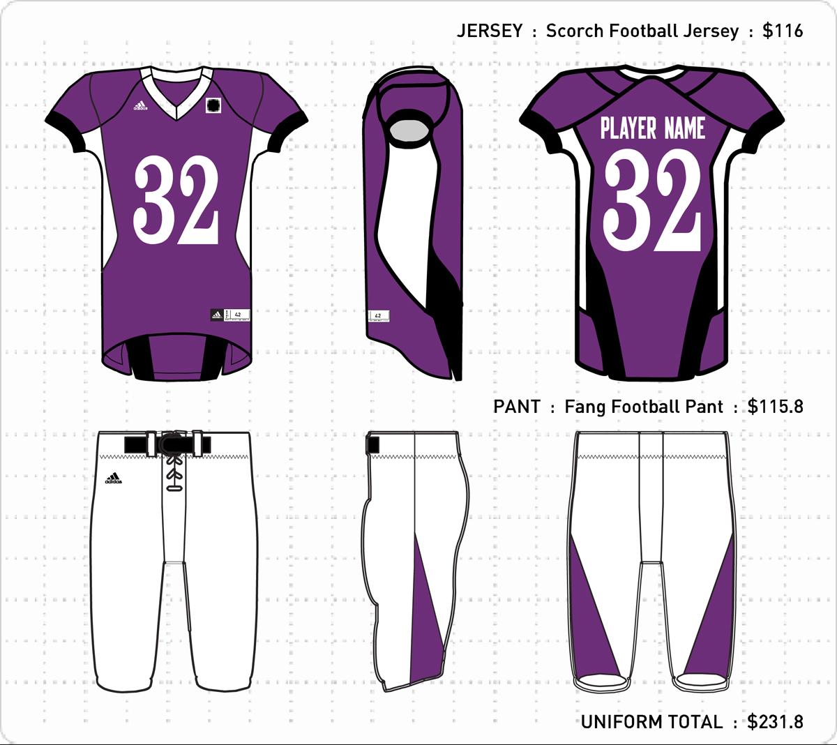 Football Uniform Designs 11