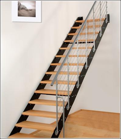 estas escaleras pueden tener muchas variaciones dependiendo de si son de un solo tramo y del ngulo de direccin de la escalera despus del descansillo