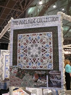 William Morris In Quilting Adelaide At Quilt Market Minnesota