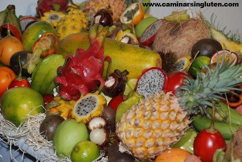 Frutas tropicales en Navarra Gourmet 2009